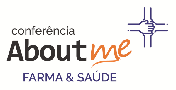 Logo Conferencia Aboutme Farma & Saúde